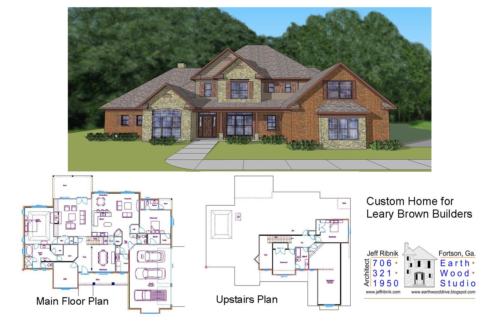 LearyBrownCollagejpg – Custom Homes By Jeff Floor Plans